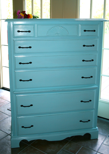 Dresser inside