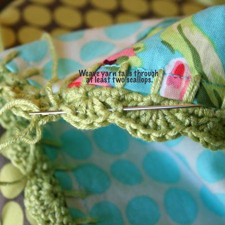 Weave-yarn-ends