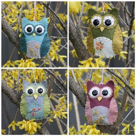 Owls mosaic