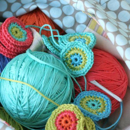 Crochet yoyo